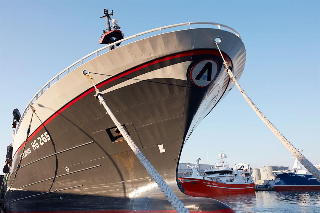 Moderne fartøj